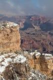 风景的冬天在南外缘 库存照片
