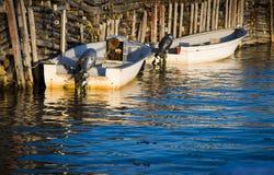 风景的小船 库存图片