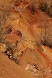 风景的山坡 库存图片