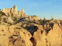 风景的布莱斯峡谷国家公园 免版税库存图片