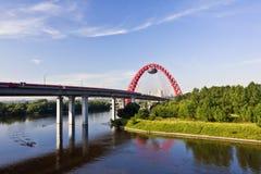 风景的桥梁 免版税库存照片