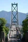 风景的桥梁 免版税库存图片