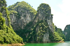 风景的河 库存图片