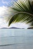 风景的海滩 免版税库存照片