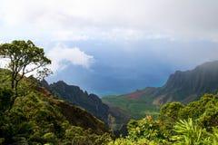 风景的考艾岛 图库摄影