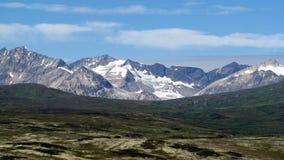 风景的阿拉斯加biway s 免版税库存图片