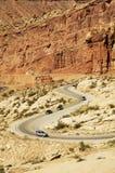 风景的高速公路 免版税库存图片
