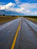 风景的高速公路 免版税库存照片