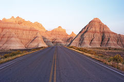 风景的高速公路 库存照片
