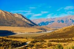 风景看法新西兰 库存图片