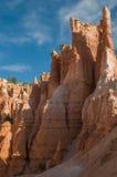 红色石峰(不祥之物) Bryce峡谷,犹他,美国 免版税库存照片