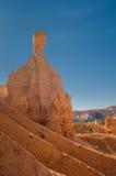 红色石峰(不祥之物) Bryce峡谷,犹他,美国 免版税库存图片