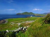 风景美好的爱尔兰的横向 库存图片