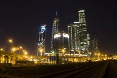 风景莫斯科市,莫斯科,俄罗斯 免版税库存图片