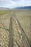 风景落寞的高速公路 库存照片