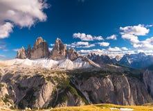 风景观点的意大利语 免版税库存图片