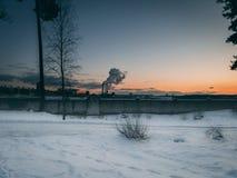 风景视图在维尔纽斯 免版税图库摄影