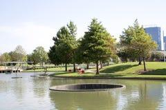 风景设计在霍尔公园Frisco 免版税图库摄影