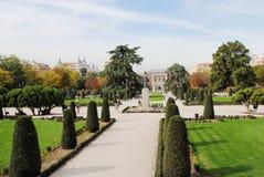 风景设计在马德里 免版税库存图片