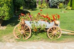 风景设计特罗扬修道院在保加利亚 库存图片