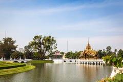 风景轰隆Pa在宫殿 免版税图库摄影