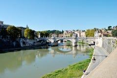 风景运河在意大利 库存图片