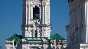 风景阿斯特拉罕克里姆林宫教会 股票录像
