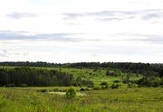 风景领域 库存图片
