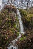 风景风景在Lousias峡谷,伯罗奔尼撒,希腊 免版税图库摄影