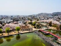 风景马塔莫罗斯市,日本2 免版税图库摄影