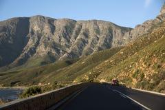 风景高速公路西开普省南部非洲 库存照片