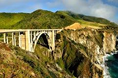 风景高速公路1US 免版税图库摄影
