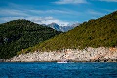风景黑山海海洋 免版税库存图片