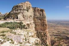 风景,提格雷,埃塞俄比亚,非洲 图库摄影