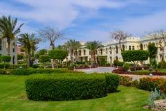 风景,红海,埃及 免版税库存图片