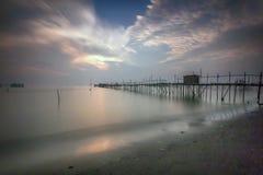 风景,自然, clauds,天空,天空,日落,日出,湖, 免版税库存图片