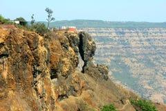 风景,马哈巴莱斯赫瓦尔山  免版税图库摄影