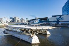 风景直升机游览在墨尔本,澳大利亚 免版税库存照片