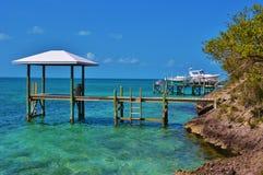 风景巴哈马 库存照片