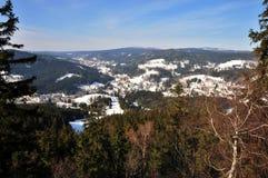 风景- Jizerske mountins 库存图片