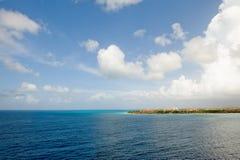 风景aruba的海岛 免版税库存图片