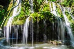 风景Bigar瀑布 库存照片