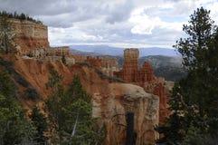 风景bryce的峡谷 库存照片