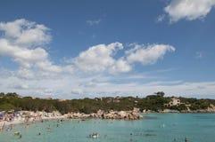 风景capriccioli撒丁岛 库存图片