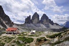 风景Dolomity 免版税库存照片