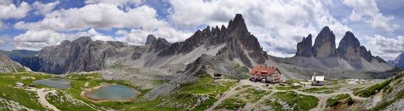 风景Dolomity 库存照片