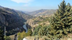 风景Guejar山脉 库存图片
