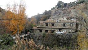 风景Guejar山脉 免版税图库摄影