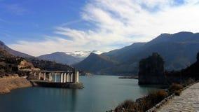 风景Guejar山脉 免版税库存照片