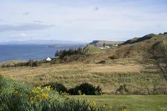 风景Hebrides海岛视图 免版税库存照片